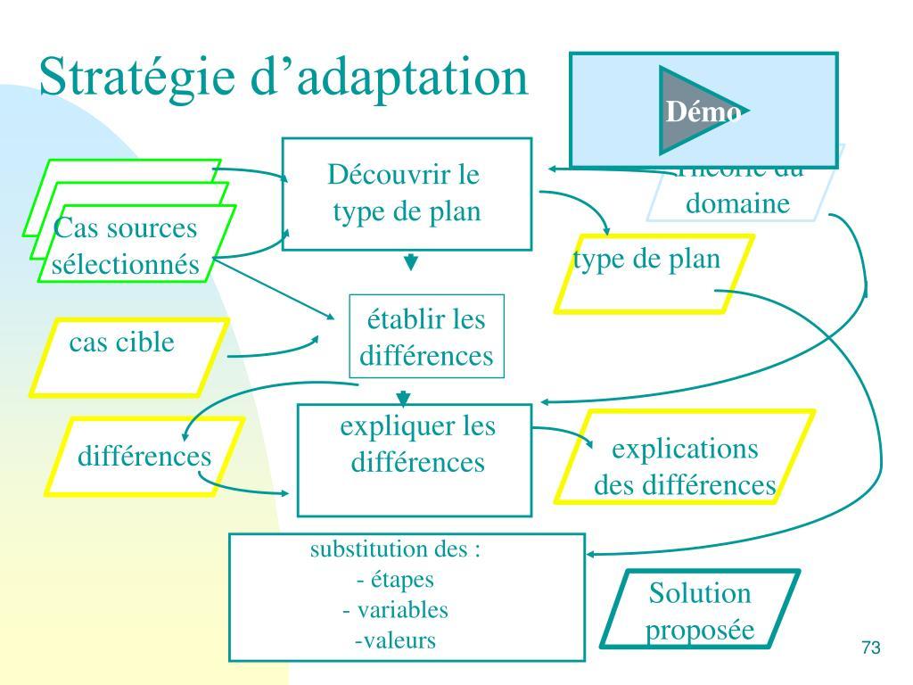 Stratégie d'adaptation