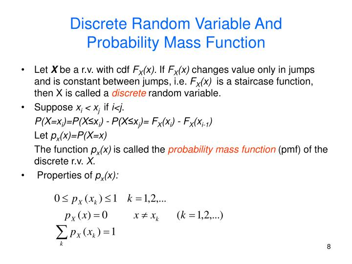 Discrete Random Variable And
