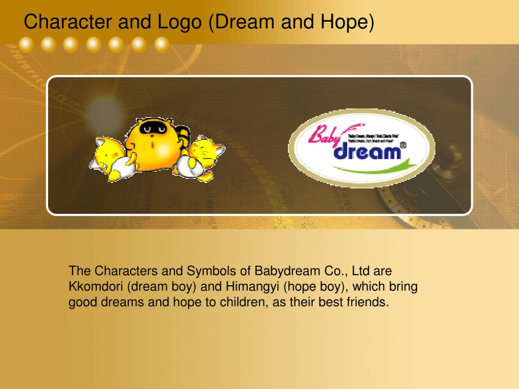 Character and Logo (Dream and Hope)