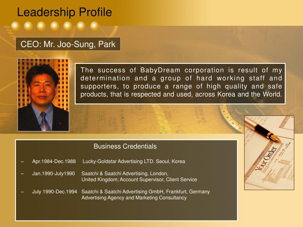 Leadership Profile