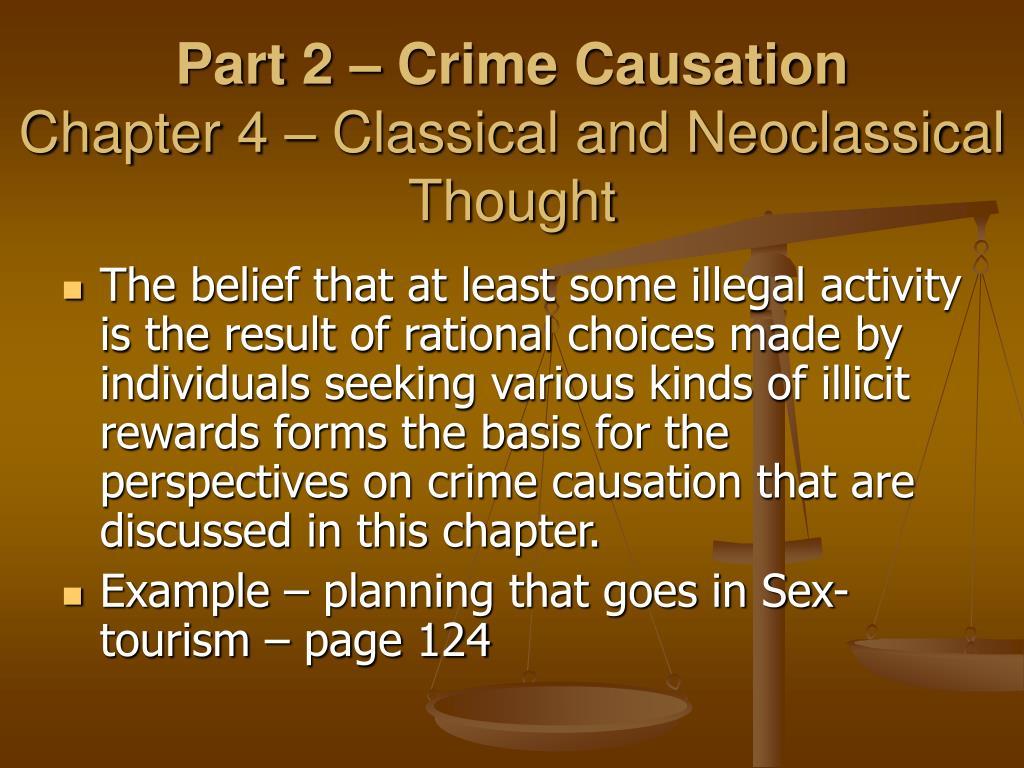 Part 2 – Crime Causation