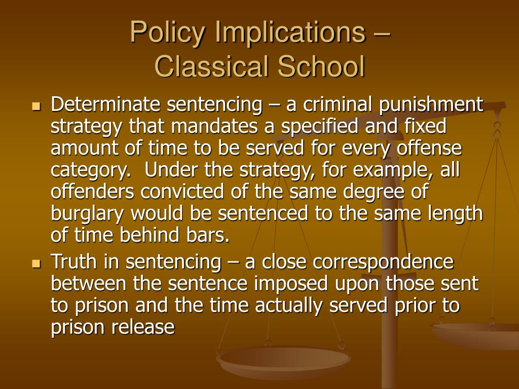 Policy Implications –