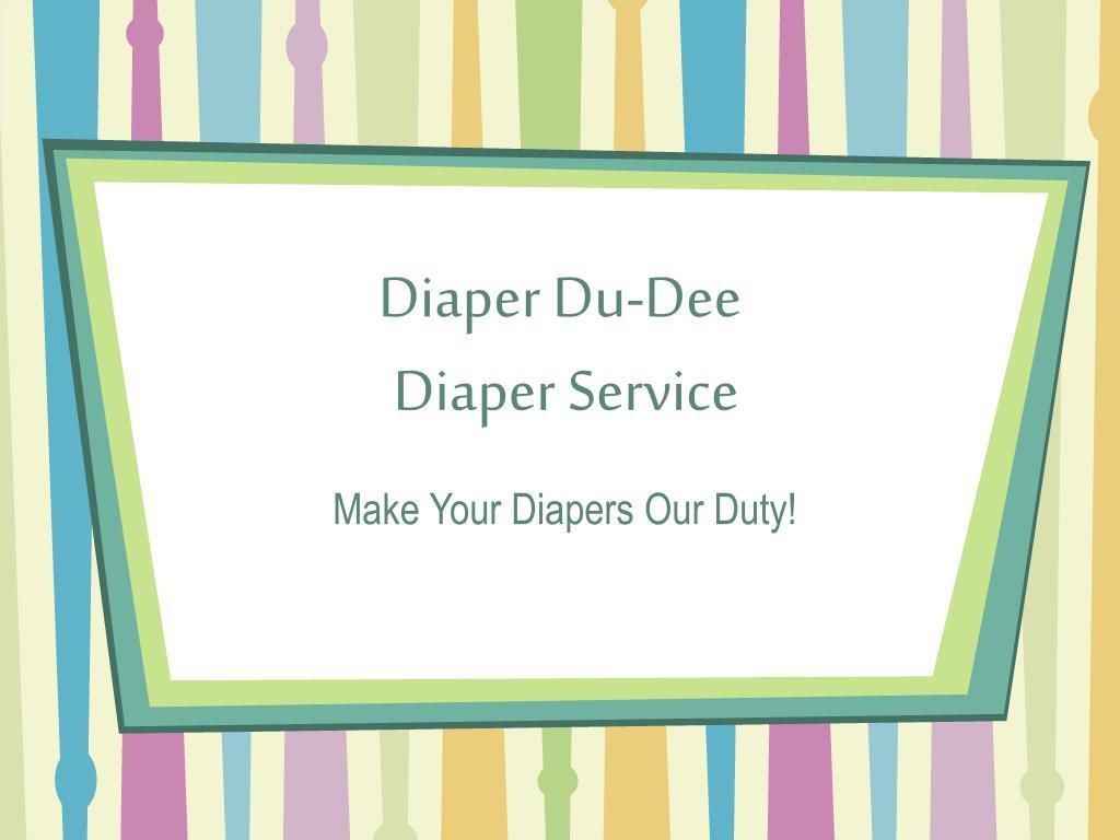 diaper du dee diaper service
