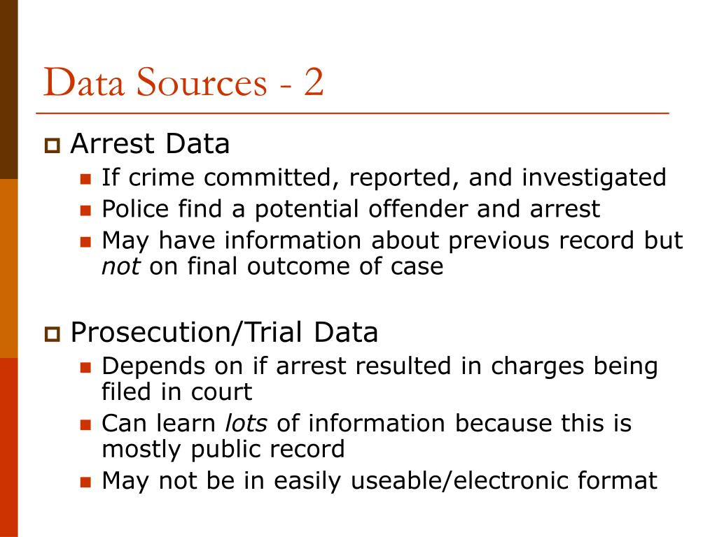 Data Sources - 2