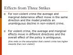 effects from three strikes