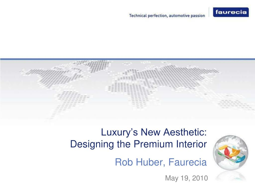 Luxury's New Aesthetic:
