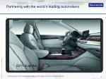 partnering with the world s leading automakers