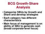 bcg growth share analysis14