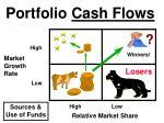 portfolio cash flows