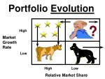 portfolio evolution