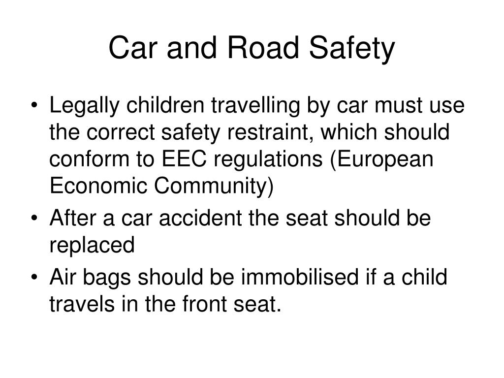 Car and Road Safety