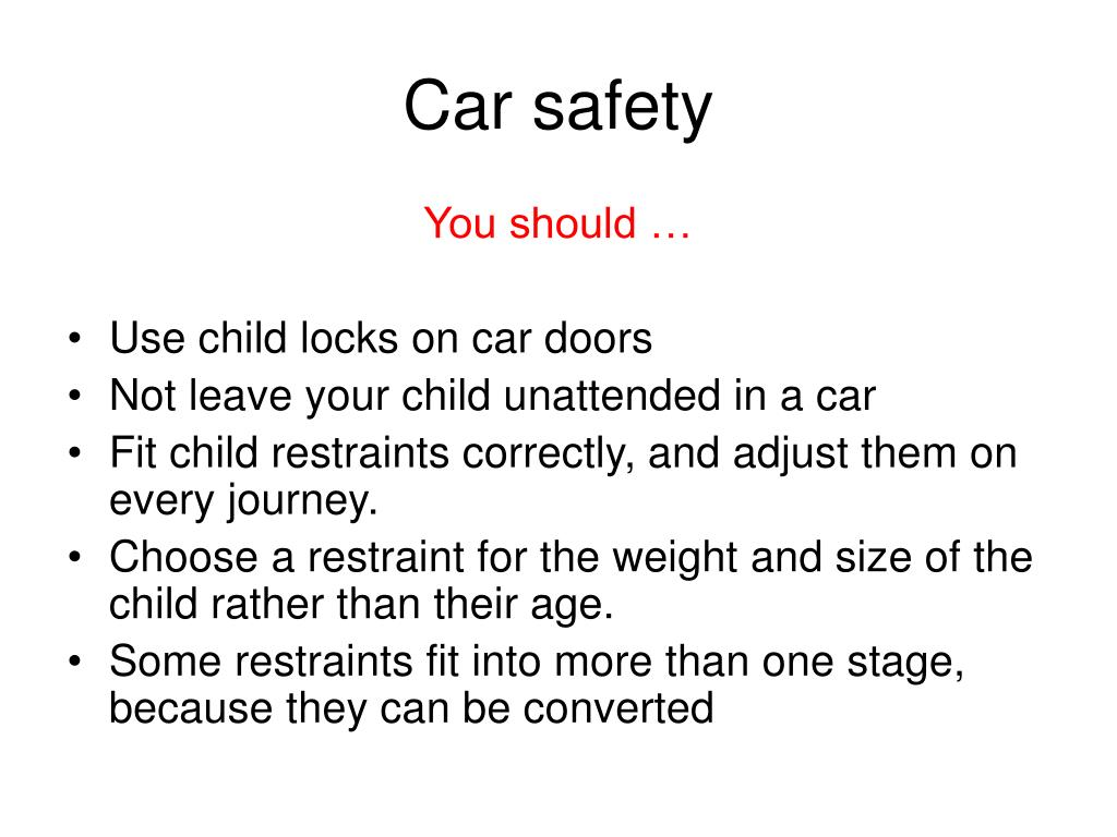 Car safety