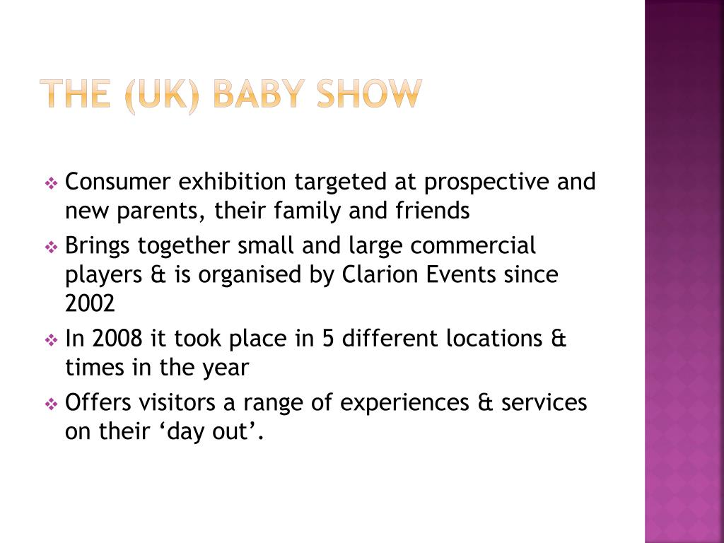 The (UK) Baby Show