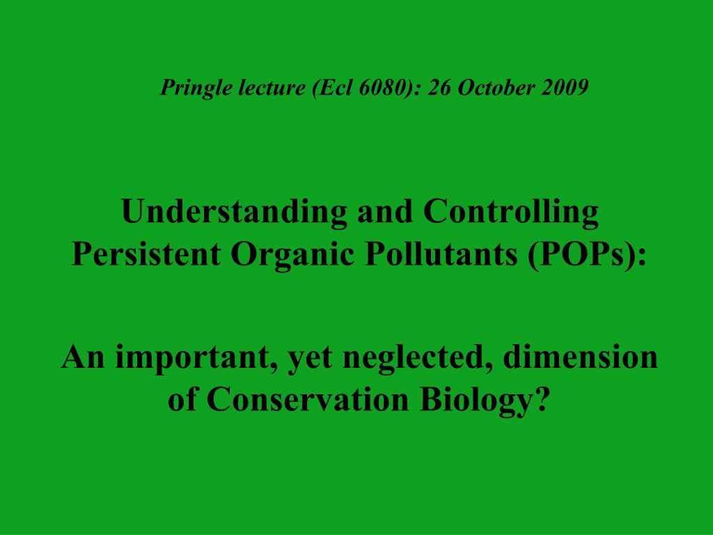 Pringle lecture (Ecl 6080): 26 October 2009
