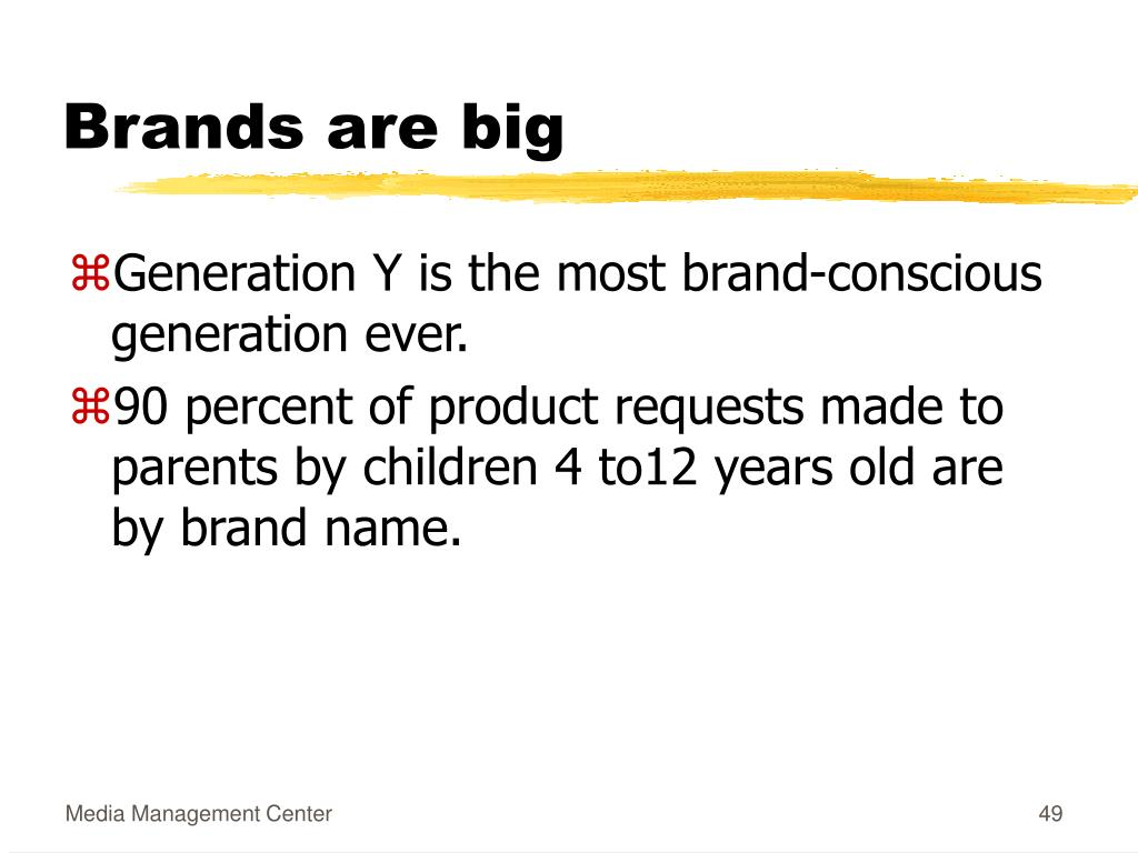 Brands are big