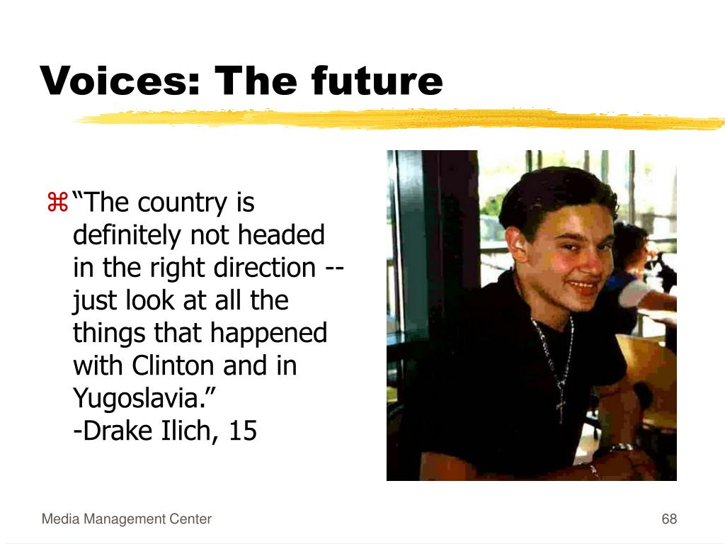 Voices: The future