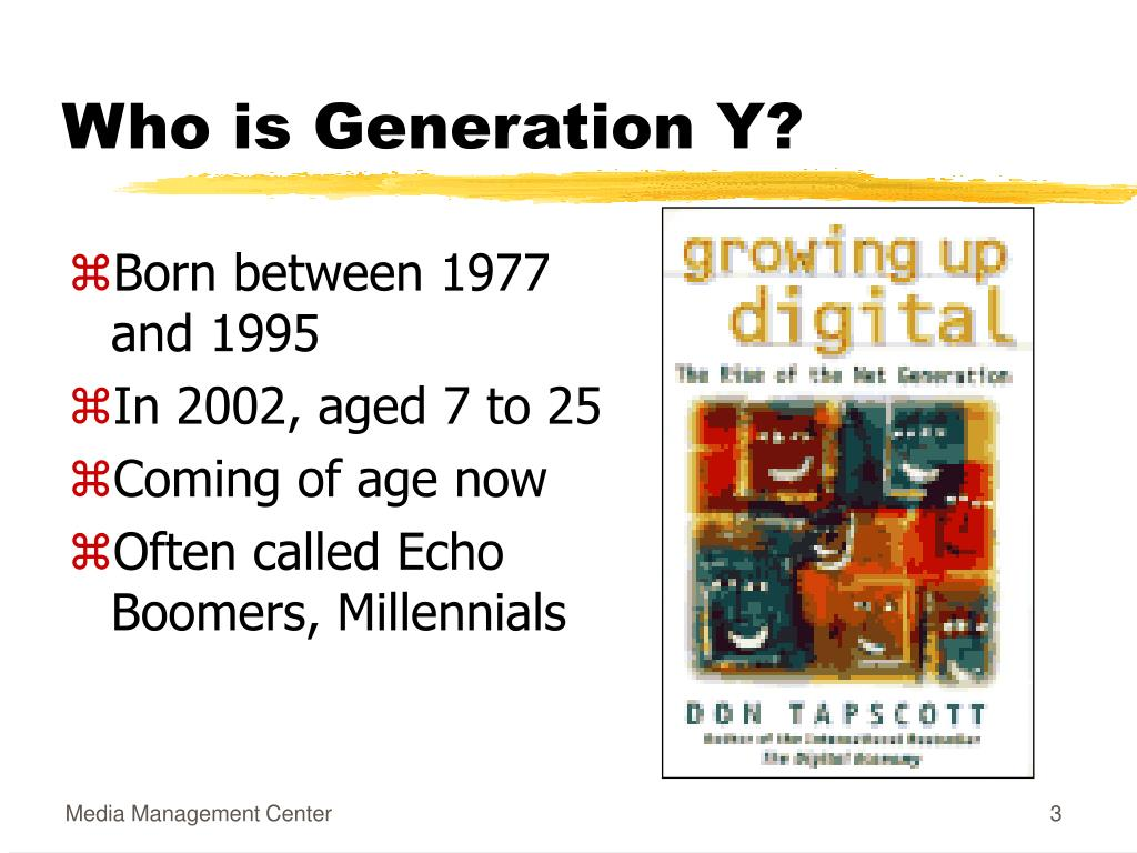 Who is Generation Y?