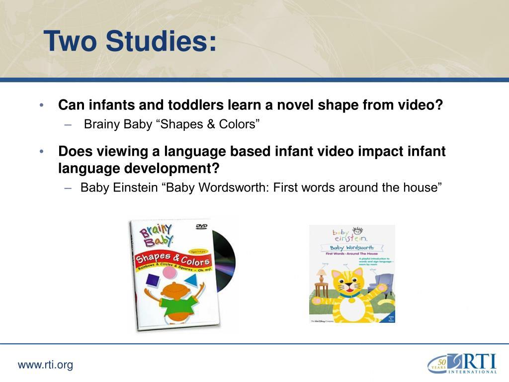 Two Studies: