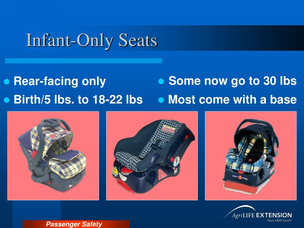 Infant-Only Seats
