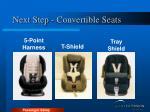 next step convertible seats