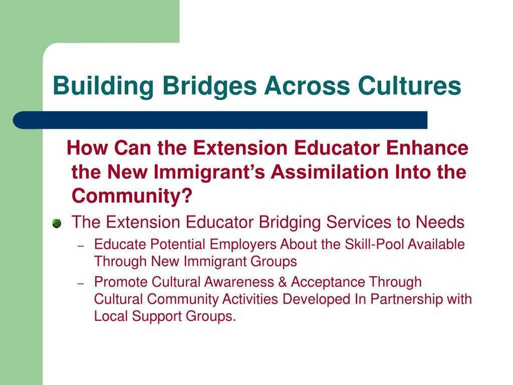 Building Bridges Across Cultures