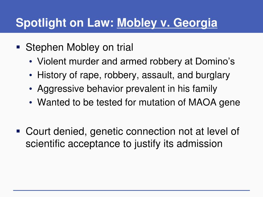 Spotlight on Law: