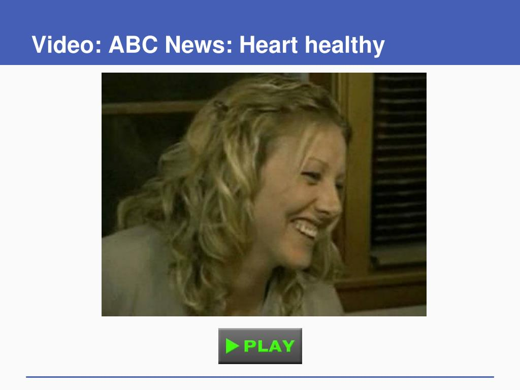 Video: ABC News: Heart healthy