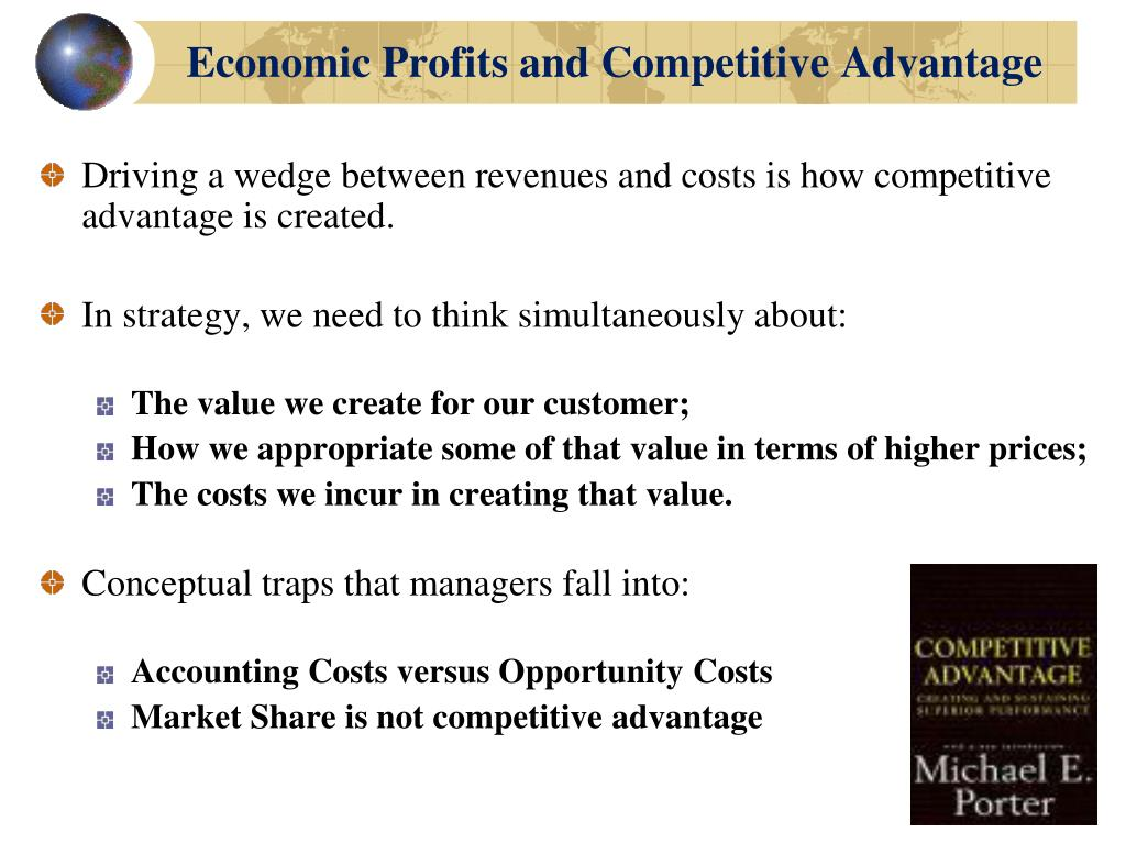 Economic Profits and Competitive Advantage