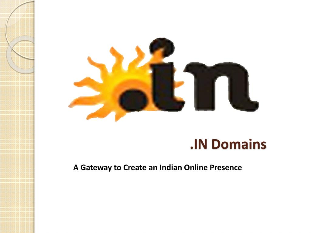 .IN Domains