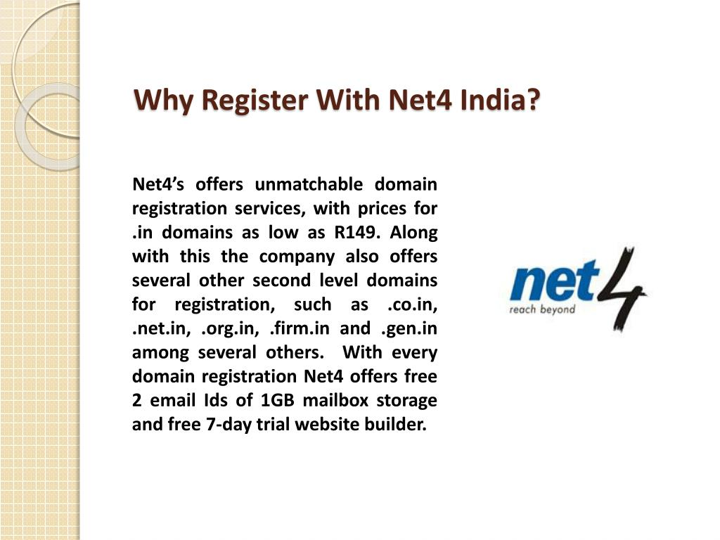 Why Register With Net4 India?