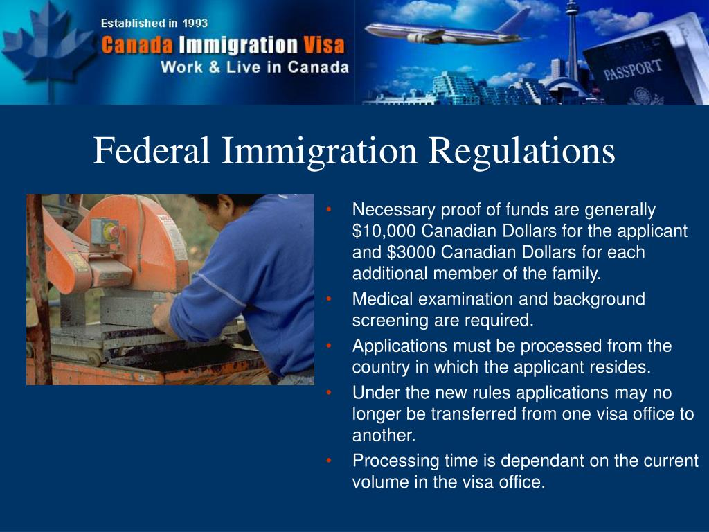 Federal Immigration Regulations