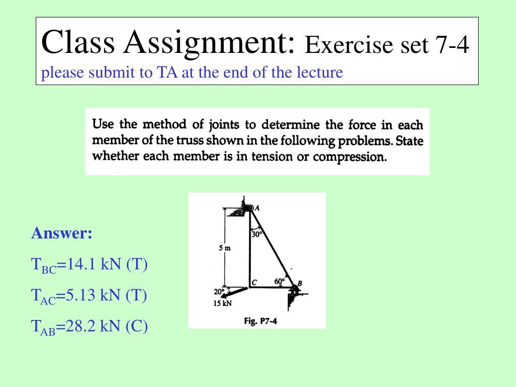 Class Assignment: