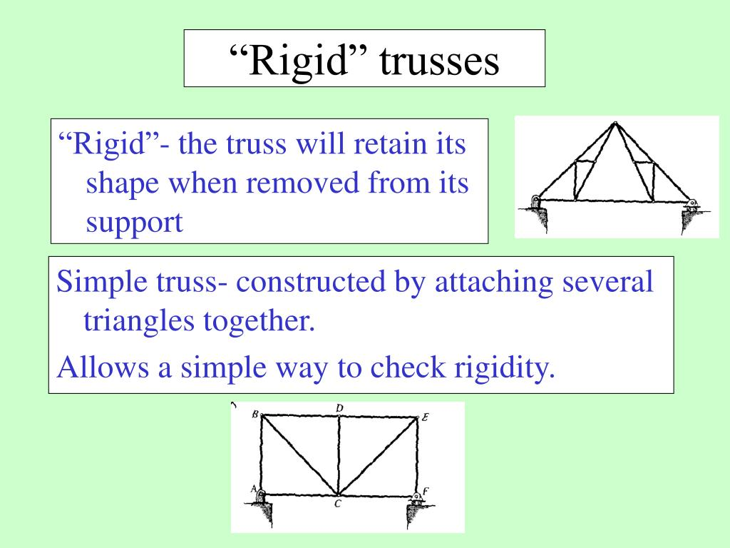 """Rigid"" trusses"