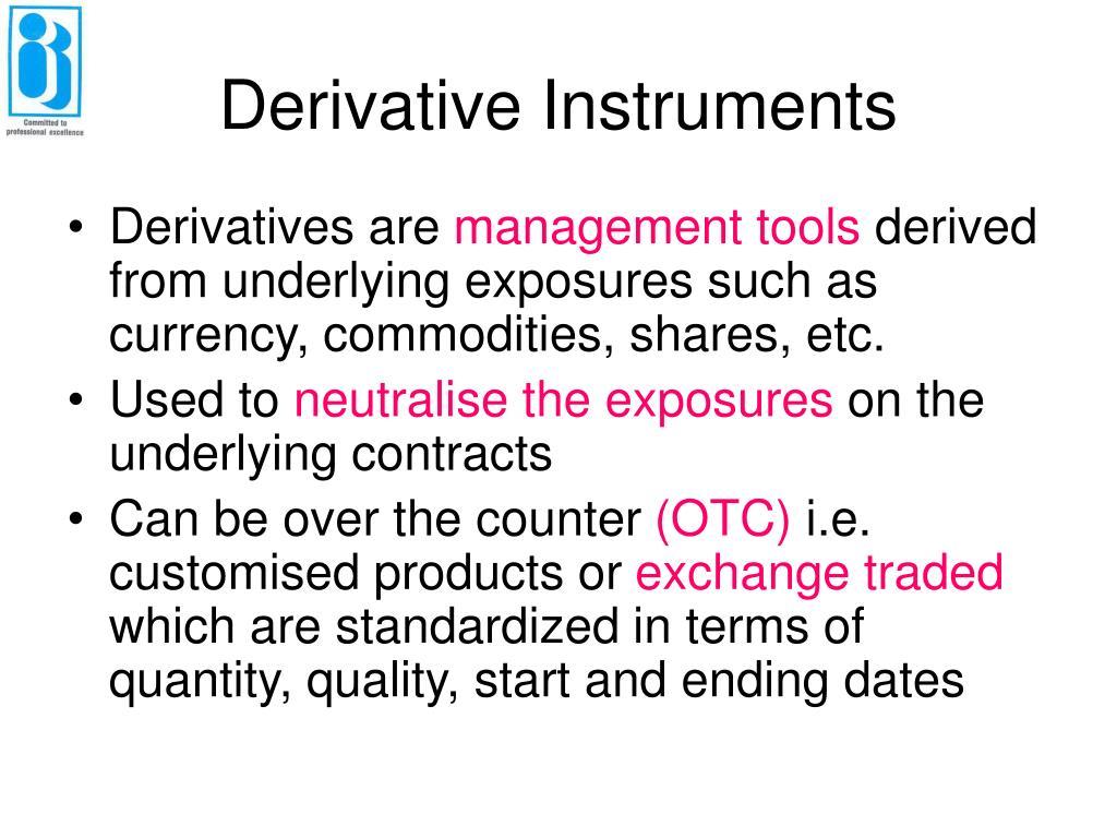 Derivative Instrument