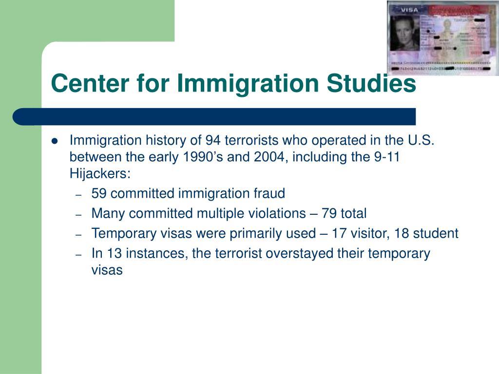 Center for Immigration Studies