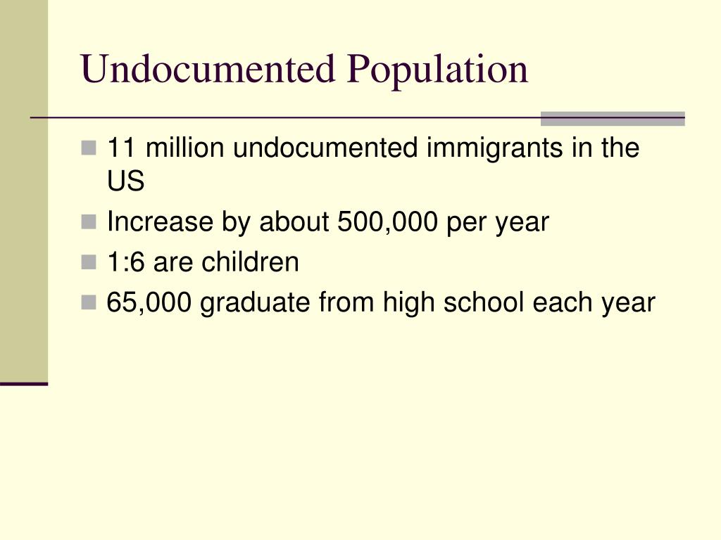 Undocumented Population