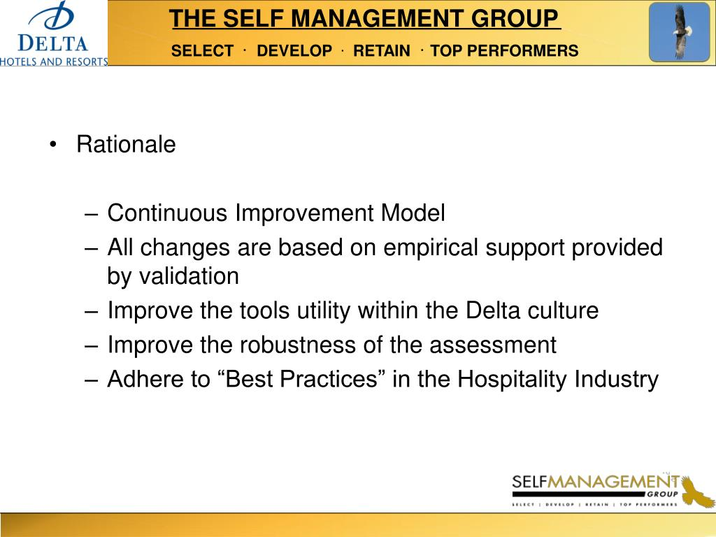 THE SELF MANAGEMENT GROUP