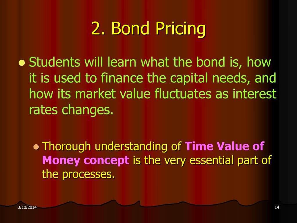 2. Bond Pricing