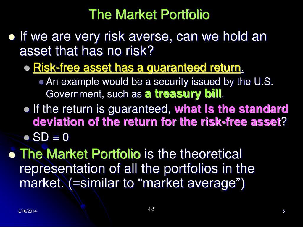 The Market Portfolio