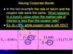 valuing corporate bonds17