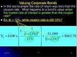 valuing corporate bonds18