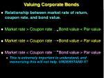 valuing corporate bonds19