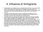 4 influence of immigrants15