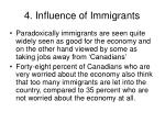 4 influence of immigrants17