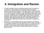 6 immigration and racism