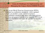 issues challenges for implementing and managing the calgary hybrid bhrm program27