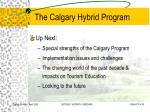 the calgary hybrid program17
