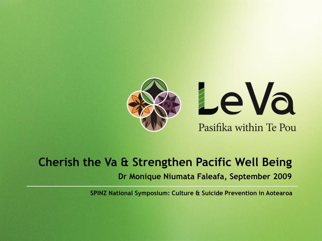 Cherish the Va & Strengthen Pacific Well Being