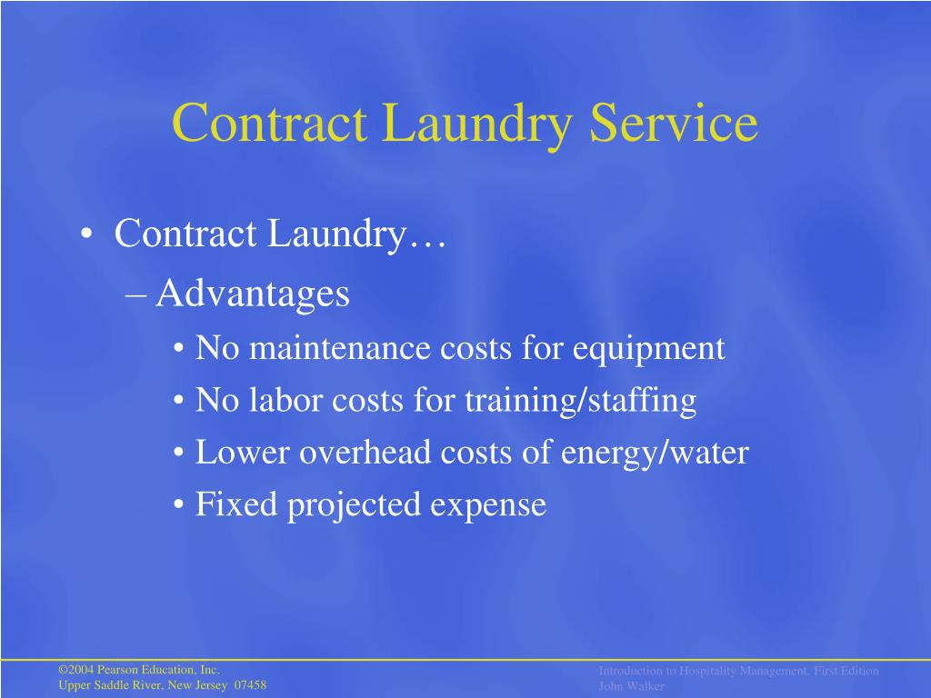 Contract Laundry Service