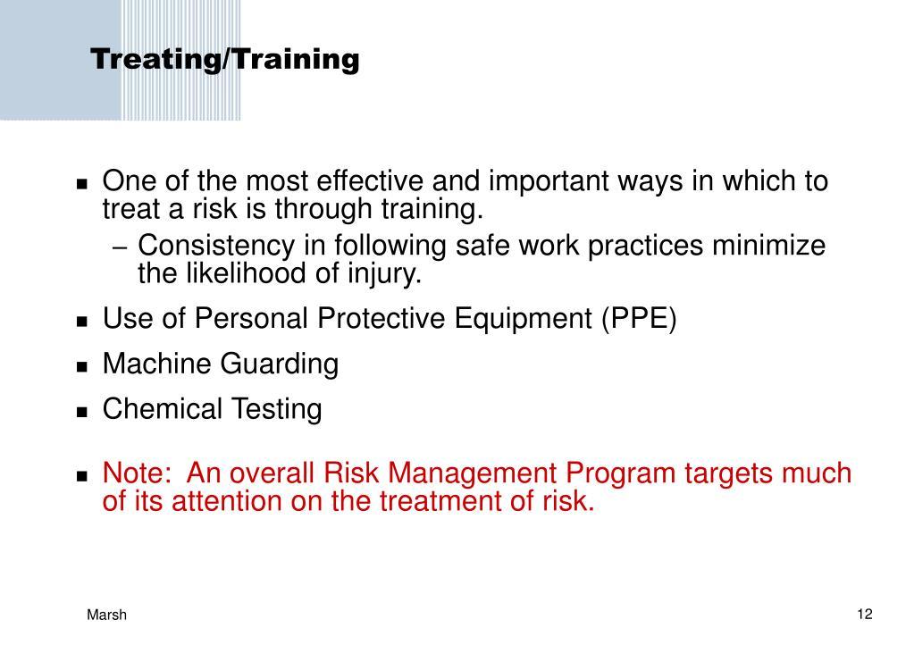 Treating/Training